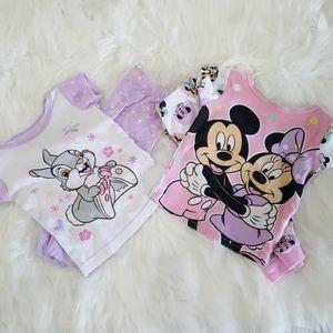 Disney Baby Pajamas Sets